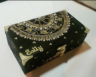 BEAUTEOUS BOX,  jewellery, keepsake, memory box