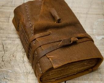 Rustic Leather Journal, Handbound Journal
