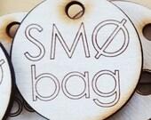 2 custom tote bags