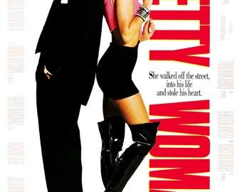 Pretty Woman Movie Poster Reproduction xl23Prettywomanptr01