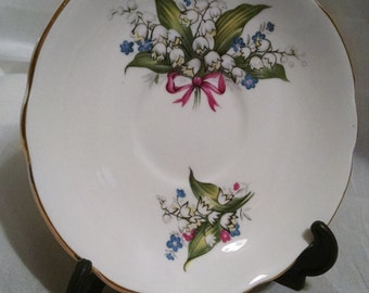 Lilly of the Valley Saucer