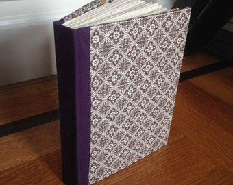 Damask Handmade Journal