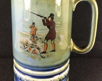 Vintage Irish 'Wade Pottery' Music Box Stein