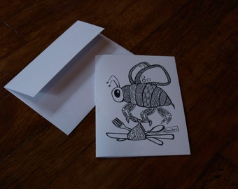 Bee-Ware card