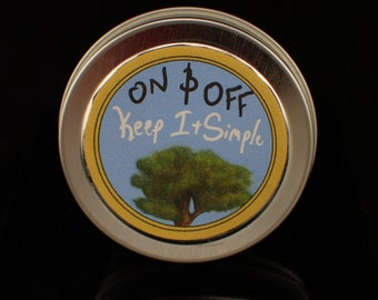 Vegan Sandalwood Solid Perfume/Sample 0.5oz