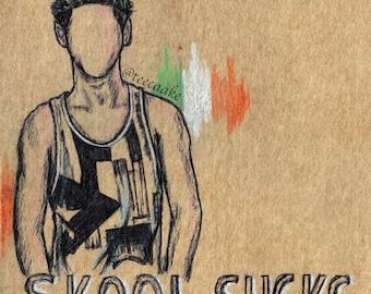 1. Niall Horan Postcard