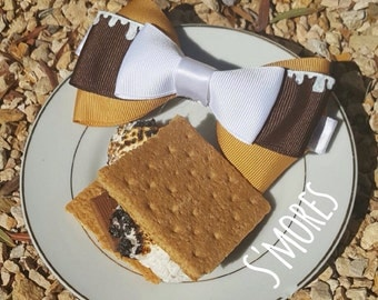S'mores Bows