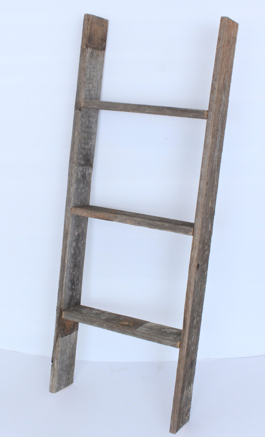 barnwoodusa 3 ft bookcase ladder 100 reclaimed by. Black Bedroom Furniture Sets. Home Design Ideas