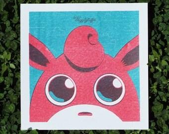 Wigglytuff Art Print