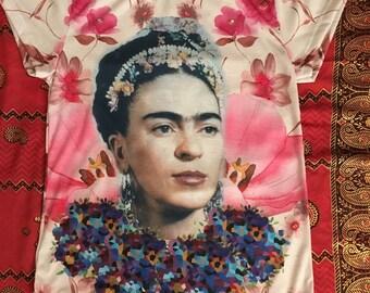 SALE!!! Frida Kahlo flower background