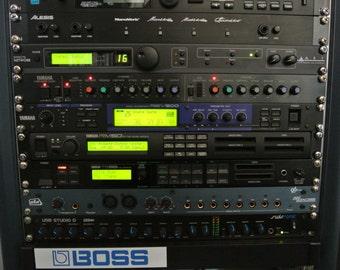 Yamaha REV 500 multi effect unit vintage Music Studio * made in Japan *.