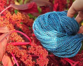 La petite échevette bleue - 2 ply - merino - true worsted