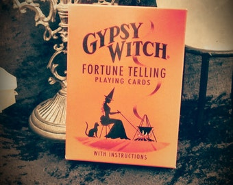 Gypsy Witch Tarot Playing Cards~ Fortune Telling Deck