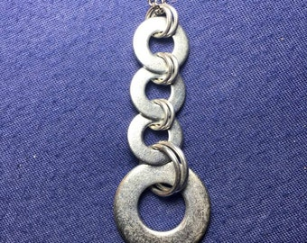 Chainmail Washer necklace