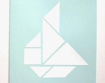 """Map """"Sailing ship"""""""