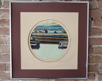 "Thomas Seawell Serigraph ""The 2nd Coaches"" 78/100"