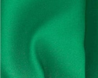 Kona Green Clover by Robert Kaufman. Quality 100% Cotton Plain Fabric Multi Purpose Material by half meter