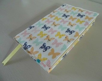 Fluttering By Handmade Fabric Book Cover