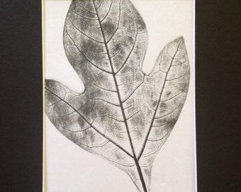 Leaves of Spring Monoprint #6
