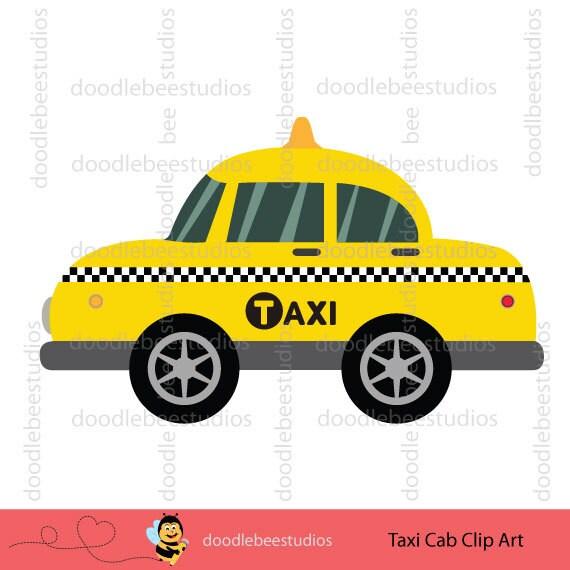 New York Taxi Cab Clipart NY Taxi Cab Clip Art Taxi Cab Clip