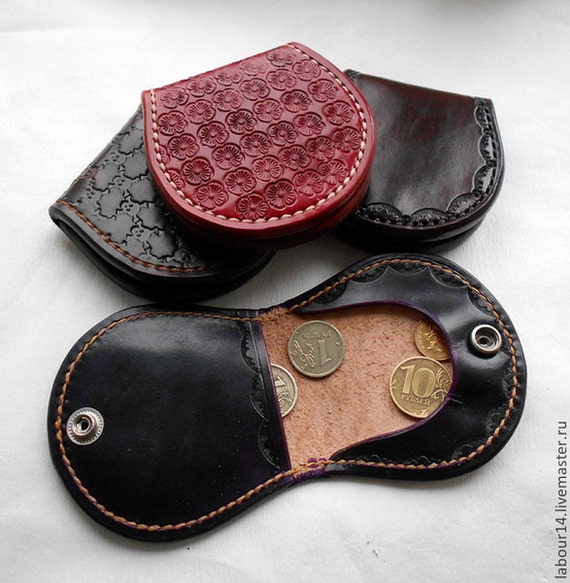 PDF Pattern Coin Wallet Leather Coin Purse by ...