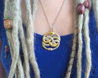 The Neverending Story Auryn necklace