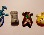 Rayman 2 inspired magnets