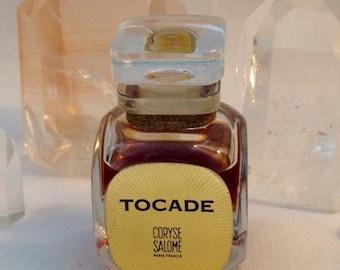 Coryse Salomé, Tocade, 30 ml. or 1 oz. Flacon, Pure Parfum Extrait, 1957, Paris, France