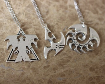 3pcs Starcraft Necklace ZH3N_S