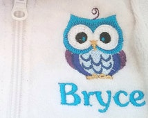 Swim Suit Cover Up babies and boys, personalized with embroidered monogram or name! Sizes 6mo-10yrs