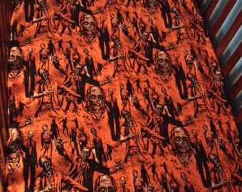 Awesome Zombie Crib Sheets