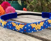 Wonder Woman Inspired Non-slip Headband