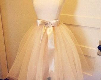Tulle skirt-woman tulle skirt-wedding tutu-bridal tutu-adult tutu-woman tutu-lady tutu-tea length tutu-wedding tulle skirt-tutu skirt
