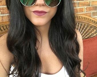 Marble Cat Eye Sunglasses