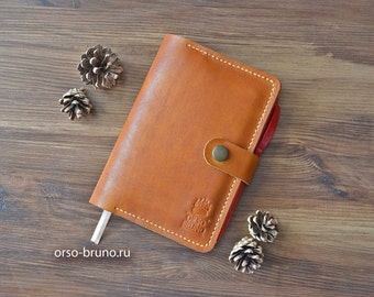 Leather Moleskine Cover, A6 Moleskine Cover, Leather Notebook Cover, Moleskine Leather Cover.