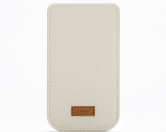 iPhone Case - Sleeve iPhone 6+ - iPhone Felt Cover - Cell Phone Cover