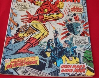 Vintage Iron Man Comic Book 1973
