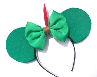 Peter Pan Inspired Mouse Ears