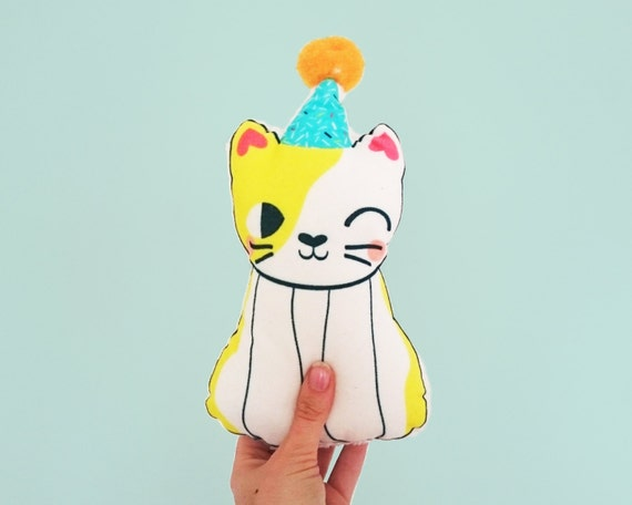 Super soft party cat toy.