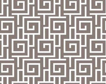 Geometric quilt fabric