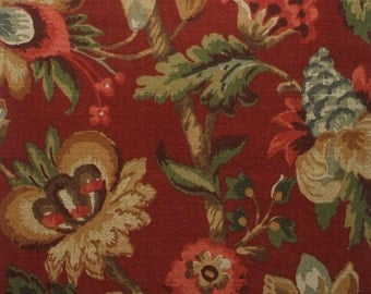 Decorative Pillow Elizabeth Floral Cardinal