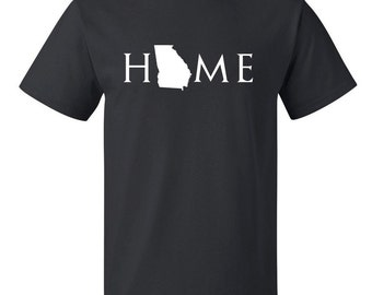 Georgia home T Shirt, Your state T Shirt, Georgia shirt, Georgia T Shirt, Georgia home, Georgia home T