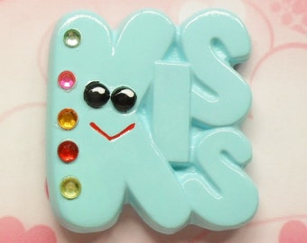 Plaster Craft Painted KISS Magnets #95