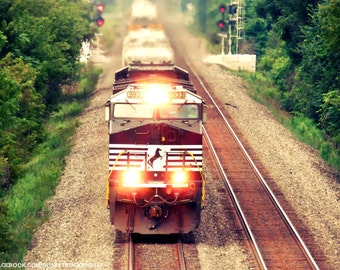 Train ahead... 4x6 print..
