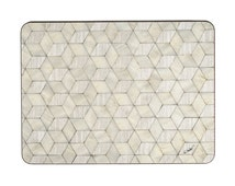 4 Place Mat Ivory, Mother of Pearl, Rectangle