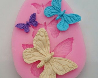 Butterfly Silicone Mold (small) for Fondant, Gum Paste, Chocolate or Cake Topper