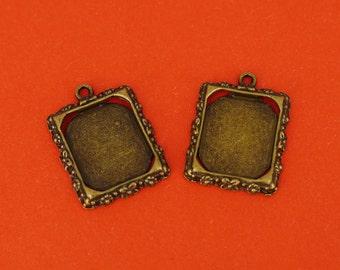 5 piece bronze frame