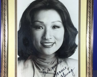 Connie Chung Signed Photo