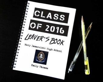 School / College Leavers Book - Memory Scrapbook
