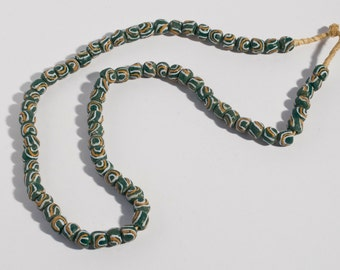 Ghana Ghana glass necklace
